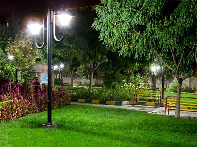 پایه چراغ های پارکی
